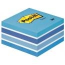 Post-it Kub 76x76mm Fresh Blue (Miljö)