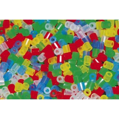 Pärlor Nabbi Mix Transparent 6000st/fpk