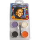 Ansiktsfärg Hallowen Mix Färg