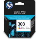 Bläckpatron HP No303 CMY 3-färg
