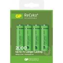 Batteri GP ReCyko+ Laddningsbara AA 2000 mAh 4st/fpk