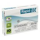 Häftklammer Rapid 23/10 1000st/fpk