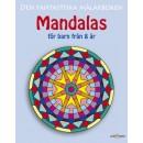 Målarbok Mandala från 8år