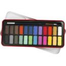 Akvarellfärger 24färger/fpk