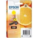 Bläckpatron Epson 33XL Gul