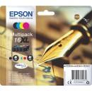 Bläckpatron Epson 16XL CMYK 4st/fpk