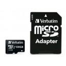 Verbatim Premium MicroSDHC Kort med Adapter 128GB