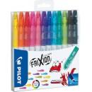 Färgpenna Pilot Frixion 12st/fpk (Miljö)