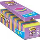Post-it Super Sticky Sorterade Färger 76x76mm 24st/fpk (Miljö)