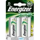 Batteri Energizer Uppladdningsbara D 2st/fpk