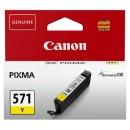Bläckpatron Canon CLI-571G Gul