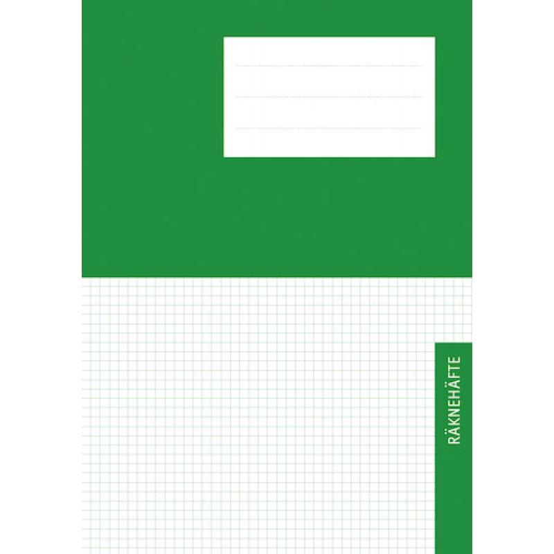 Räknehäfte Niceday A4 Rutat 5x5mm Grön 10st fpk (Miljö) hos ... 18755ad14f92e
