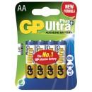 Batteri GP Ultra Plus AA/LR6 4st/fpk (Miljö)