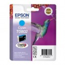 Bläckpatron Epson T0802 Cyan