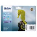 Bläckpatron Epson T0487 6-Färg