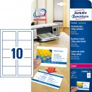 Avery Visitkort Quick&Clean 220g Premium Satin 250st/fpk