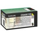 Toner Lexmark C544X1YG Gul