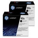 Toner HP 90X CE390XD Svart 2st/fpk