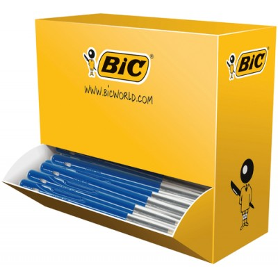 Kulspetspenna Bic Clic M10 Blå 100st/fp