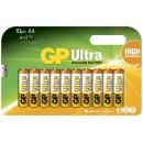 Batteri GP Ultra AA/LR6 10st/fpk