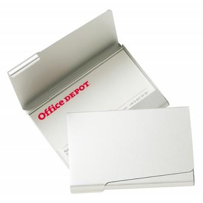 Visitkortsask Aluminium 20-kort