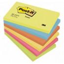 Post-it Energy Rainbow 76x127mm 6st/fpk (Miljö)