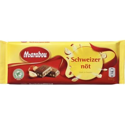 Marabou Choklad Schweizernöt 22x100g