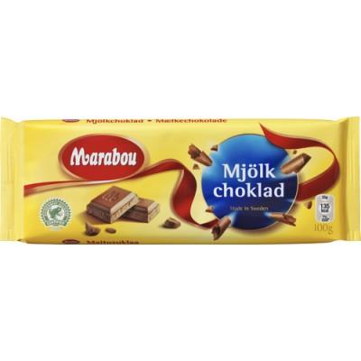 Marabou Choklad Mjölkchoklad 24x100g