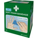 Cederroth Soft Foam Bandage Blå 2st/fpk