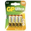 Batteri GP Ultra Alkaline AA/LR6 4st/fpk