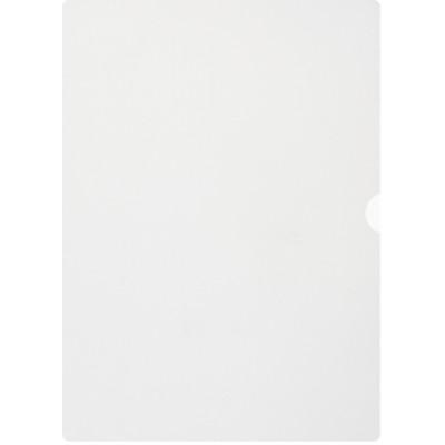 Plastmapp av returplast A4 0,12mm klar 100st/fp