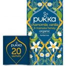 Te Pukka Chamomile, Vanilla & Manuka Honey Eko 20st/fp