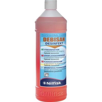 Ytdesinfektionsmedel Debisan Desinfekt 1L 6st/fpk