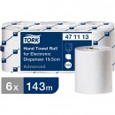 Pappershandduk på Rulle Tork H12 Elektronisk Dispenser 19,5cm 6st/fpk