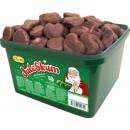 Chokladdoppat Juleskum i Burk