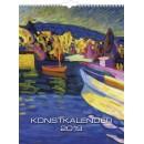 Väggkalender Konstkalendern (Miljö)