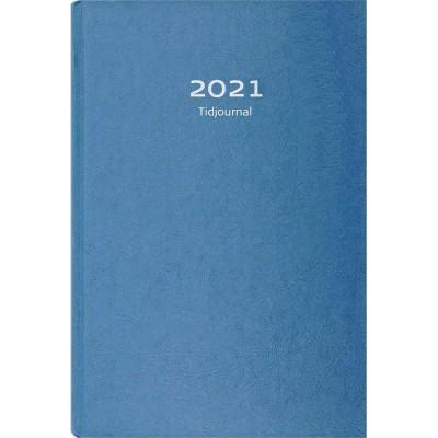 Tidjournal Burde 2021 Blå Kartong