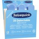 Salvequick Blue Detectable Plåster 6x35st/fpk