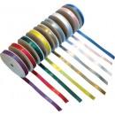 Satinband Mixade Färger 9rullar/fpk