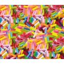 Plastpärlor Stavar 300st/fpk