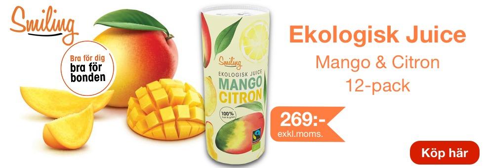 Smiling Juice mango och citron